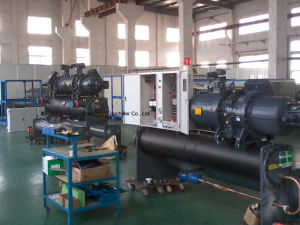 550000kcal/H Water Cooled Screw Compressor Water Chiller pictures & photos
