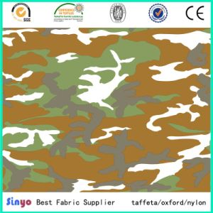 PU Coated 500d 72t Wider Width Camo Printed Fabric for Outdoor Tents pictures & photos