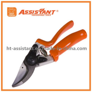 Swivel Secateurs Drop Forged Bypass Pruning Shears with Aluminum Handles pictures & photos
