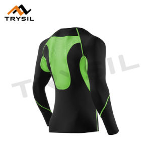 Men Sport Shirt and Leggings for Gym Suit pictures & photos