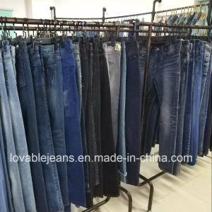 Woman′s Straight Leg Jeans (KHS005) pictures & photos