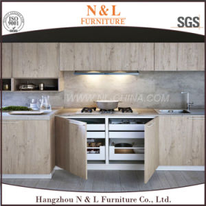 American Style Home Furniture Solid Wood Kitchen Cabinet pictures & photos