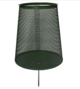 Golf Steel Mesh Rubbish Bin