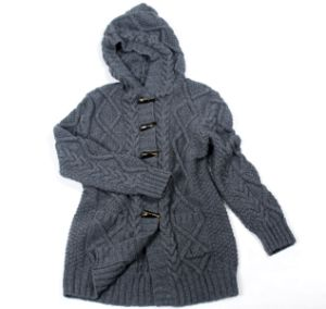 Hand Knit Sweater Ladies Cardigan Jacket Coat Sweater Dress Apparel pictures & photos