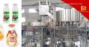 Milk/Juice Aluminum Foil Washing Filling Sealing Machine pictures & photos