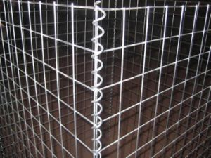 Welded Wire Mesh Gabion for Building/Welded Galvanized Gabion Basket pictures & photos