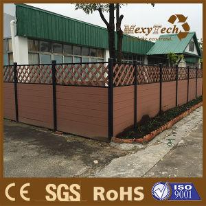 Foshan Garden Patio Balcony WPC Plastic Wooden Boundary Fence pictures & photos