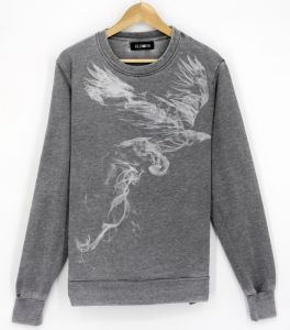 2017 Men Garment Washing Effected Sweatshirts pictures & photos