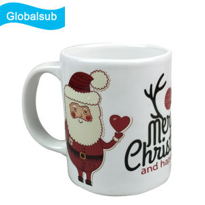 Sublimation Music Mug for Christmas Gift 11oz Blank pictures & photos