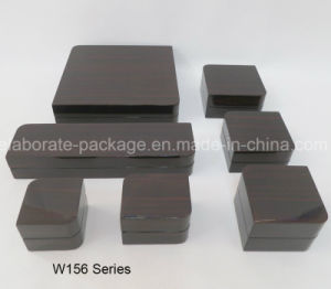 New Design Wooden Jewelry Boxes with Dark Brown Vanish pictures & photos