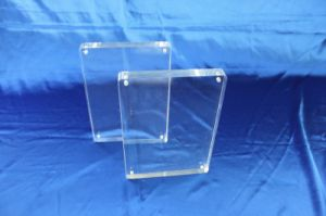 Customize Transparent Acrylic Display Leaflet Holder pictures & photos