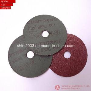 "4"", 4.5"", 5"", 6"" 7"" Round Hole Aluminium Oxide Abrasive Fiber Disc pictures & photos"