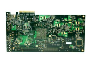 10 Layer Medium Tg Gold Finger PCB Prototype for Industrial Control pictures & photos