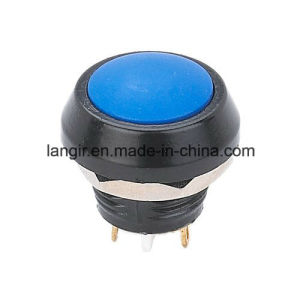 12mm Black Colour Waterproof Metal Electric Pushbutton Swtich pictures & photos