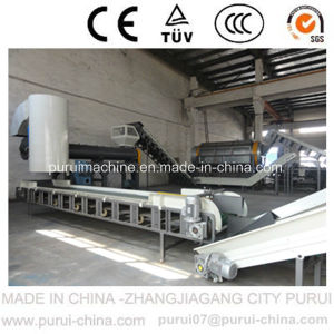 Plastic Pet Flakes Recycling Machine for Pet Bottle Recycling pictures & photos
