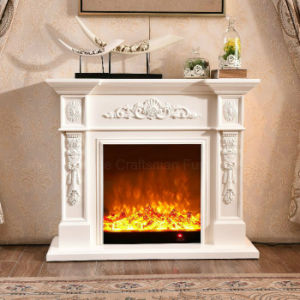 Simple European sculpture Home Furniture Heating Electrical Fireplace (322) pictures & photos