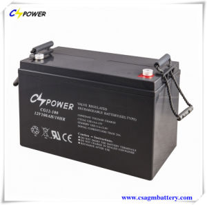 12V100ah VRLA AGM Lead Acid Battery with Float Life Over 10years pictures & photos