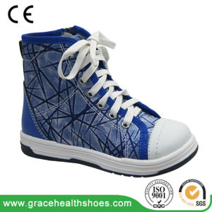Students Stability Sneakers Children Comfortable Sport Shoes Support Running Shoe pictures & photos