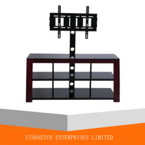 New Metal Wooden TV Stand for Living Room Furniture pictures & photos