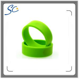 Company Logo Printed Silicone RFID Wristband for Access Control
