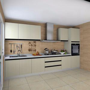 Melamine Wooden Kitchen Cupboard pictures & photos