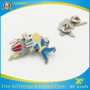 100% Factory Price Custom Metal Pin Badge for Promotion (XF-BG20) pictures & photos