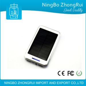 LED Light Solar Powerbank Solar Charger Powerbank Waterproof Solar Power Bank 8000mAh pictures & photos