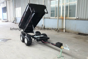 1.5t Load Capacity Hydraulic Tipping Farm Trailer, ATV Dumper Trailer, Utility Trailer pictures & photos