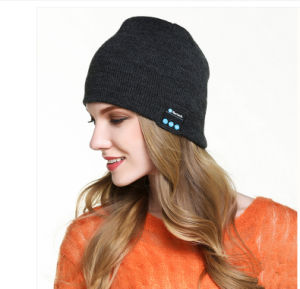 Hot Sell fashion Wireless Bluetooth Beanie Hat pictures & photos