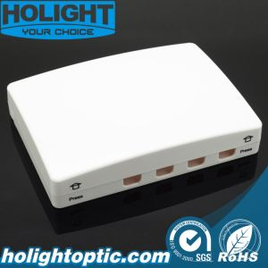Indoor Fiber Optic Terminal Box 4 Core pictures & photos