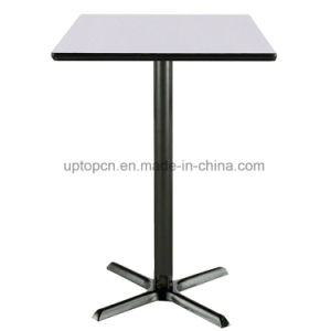 Modern Square Bar Table with Cast Iron Leg (SP-BT604) pictures & photos