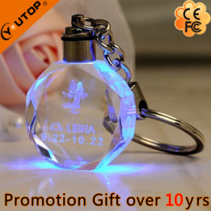 Promotional Gifts/Souvenir Heart Metal Keyring Crystal Keychain (YT-3271) pictures & photos