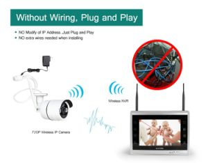 Wholesale Network Video Recorders 8 Channel CCTV IP Camera NVR Kit WiFi Wireless Camera pictures & photos