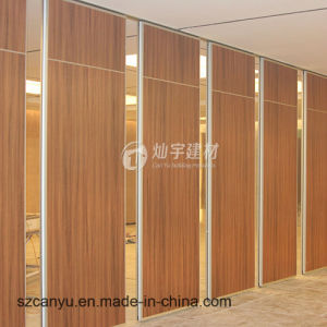 2017 Hotel Ballroom Banquet Hall Wooden Operable Partition Wall Systems pictures & photos