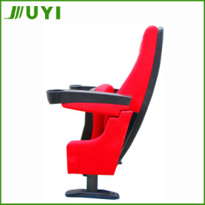 Jy-616 Conference Plastic Auditorium Chairs with Cup Holder Cinema Seating pictures & photos