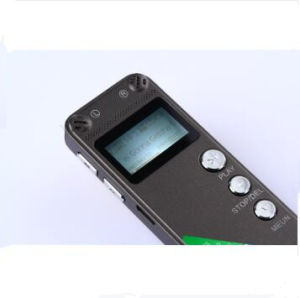 High-Definition 8GB Mini Digital Voice Recorder Stereo Dictaphone Pen with MP3 Recording Monitor pictures & photos