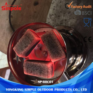 Smokless Cheap Prices Custom Hexagon Natural Charcoal Hardwood pictures & photos