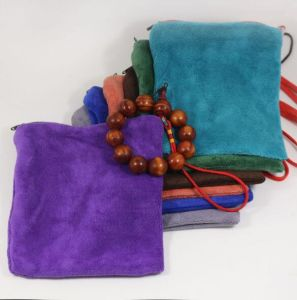 Velvet Jewelry Bag Color Velvet Bag for Storage pictures & photos