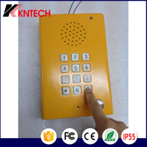 IP Emergency Explosion Proof Telephone Outdoor Phone Knzd-29 Blue Light Station with Voice pictures & photos