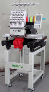 Single Head Embroidery Machine, Texitle Embroidery Machine, Flat & Cap Embroidery pictures & photos