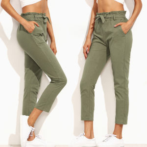 Fashion Women Leisure Casual Bandage Pants pictures & photos