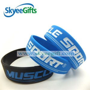 Color Contrast Spring Hot Sale Cheap Silicon Bracelets for Youth pictures & photos