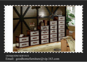 Metal Aluminum Cover Antique Cabinet with Drawers pictures & photos