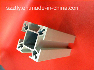 6063 Alloy Matt Anodized Silver Aluminium/Aluminum Extrusion/Extruded Profile pictures & photos