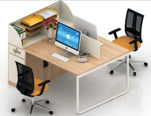 Modern Office Furniture Wooden Computer Table Workstation (HX-NCD382) pictures & photos