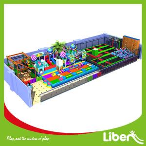 Large Kids Indoor Playground Trampoline Park Supplier pictures & photos
