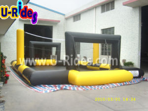 Factory Price Sport Games Inflatable Volleyball Field / Football Court Rental Event pictures & photos