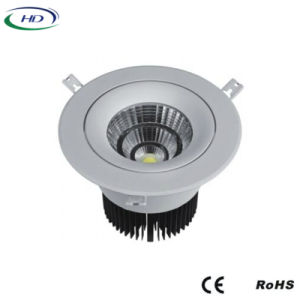 12W COB-W Series Adjustable LED Downlight pictures & photos