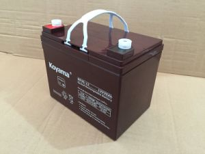 Free Shipping Mf 12V Lead Acid Battery 12V 35ah AGM Battery pictures & photos