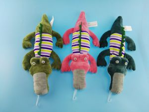 Pets Toy Crocodile with Squeaker pictures & photos